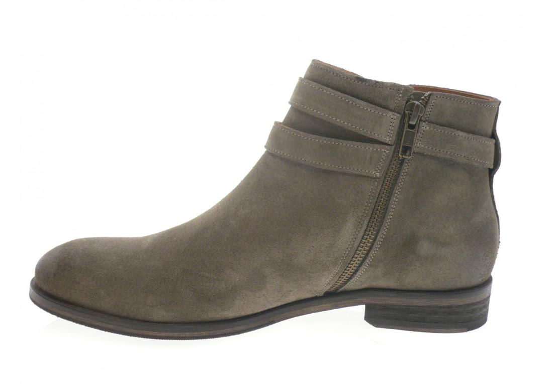 autenti'ka - Boots GASTON - DAIM TAUPE