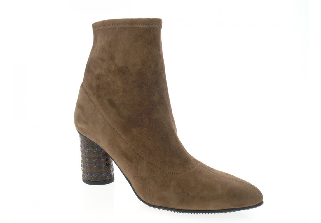 brunate - Boots 78078 - VELOURS TABAC