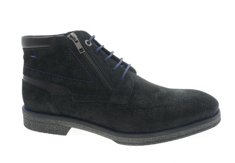 fluchos - Boots F0652 - DAIM NOIR
