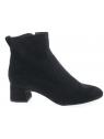 unisa - Boots LEZAMA - DAIM NOIR