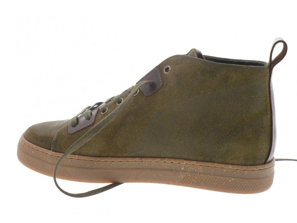 Schmoove - Boots SPARK HIGHT CUT - DAIM KAKI