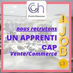 Alerte Job !!  Nous recrutons un apprenti, en CAP vente/commerce.  Rejoignez l'équipe Charly Chausseur, rendez-vous en boutique pour postuler au 22-24 Rue Française à Béziers, ou contactez-nous par message privé.   Merci de partager au maximum !!  #apprenti #apprentissage #capvendeur #capcommerce #vente #commerce #béziers #narbonne #hérault #aude #chaussures