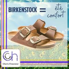 Un été placé sous le signe du confort !!  Retrouvez en boutique la collection de la marque culte Birkenstock.   #birkenstock #confort #été