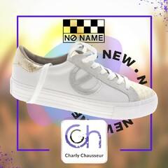 Votre nouvelle paire de basket blanche pour la rentrée se trouve chez Charly avec ce modèle NoName, clairement notre coup de cœur de septembre.   https://www.charlychaussures.com/  #septembre #rentrée #basket #blanche