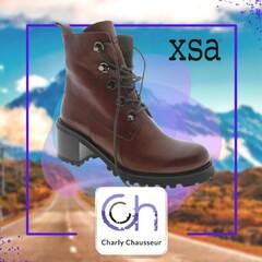 On les veut ABSOLUMENT 😍😍 ... les boots de la marque italienne XSA.  Une fabrication artisanale 👌  pour commander ça se passe ici  ➡️ https://www.charlychaussures.com/  et en boutique 🆒  #xsa #new #boots #femme