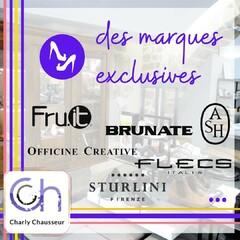 Fier !!  Oui chez Charly, nous sommes fier de pouvoir vous présenter des marques exclusives, des marques de qualité que vous ne trouverez pas ailleurs !!   #fruit #brunate #ash #officinecreative #flecs #sturlini