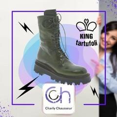 Nouvelle marque à découvrir chez Charly ⚡️💥  King Tartufoli pour un look à couper le souffle.  Dispo ici ⏩ https://www.charlychaussures.com/ et en boutique 🆒  #kingtartufoli #look #new